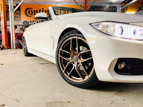 MÂM 305FORGED FT06 19 INCHES / BMW 420 CONVERTIBLE